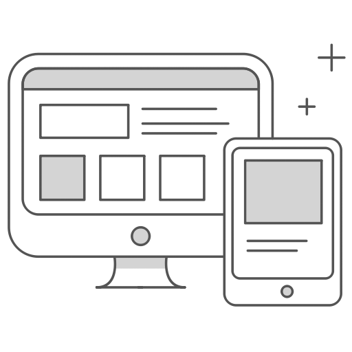 Bildschirm und Handy