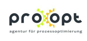 Logo pro|opt agentur für prozessoptimierung